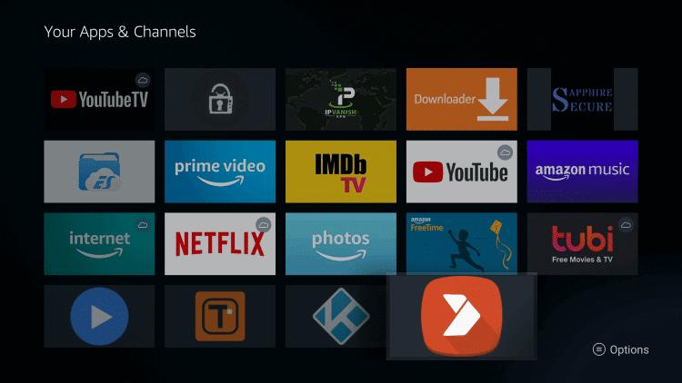 Select Aptoide TV
