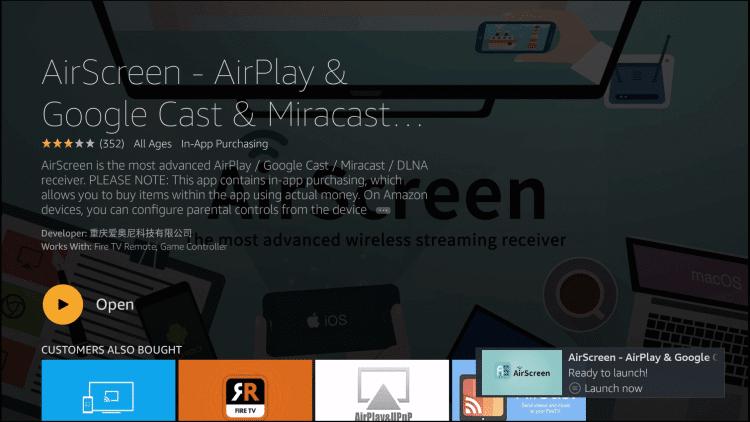 Open AirScreen