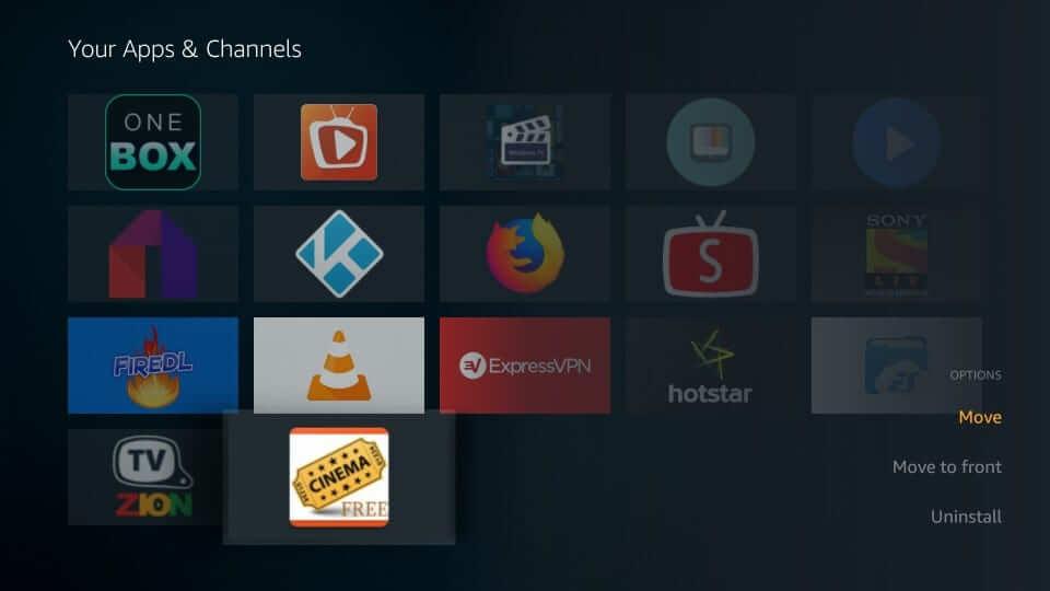 Select Move - Cinema Apk Firestick