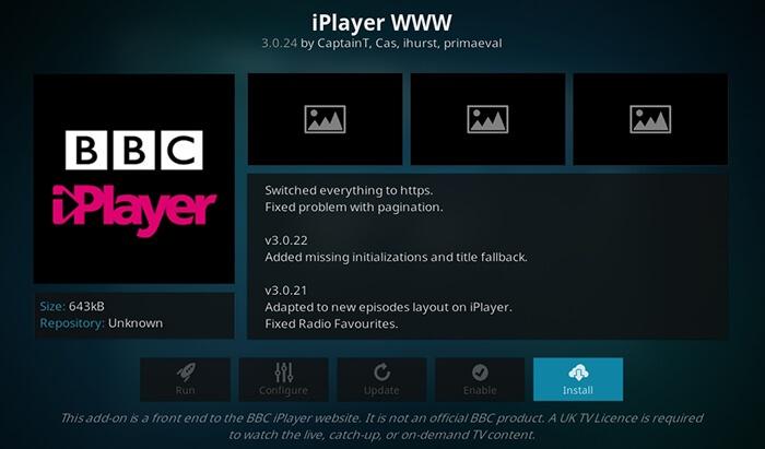 BBC iPlayer WWW - Best Kodi Addons