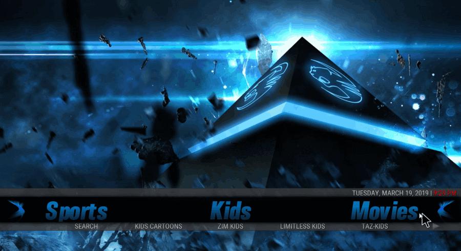 Blue Magic - Best Kodi Builds