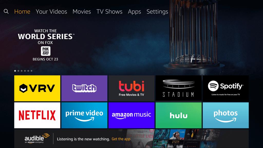 Choose Settings option - Movie HD Apk