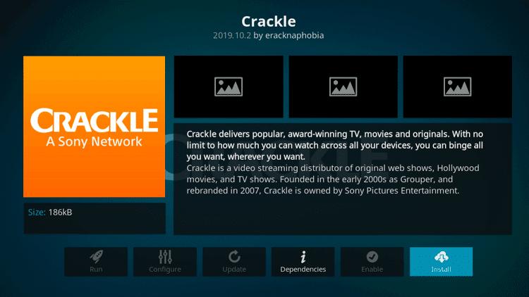 Crackle - Best Kodi Addons