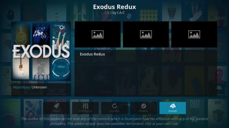 Exodus Redux - Best Kodi Addons