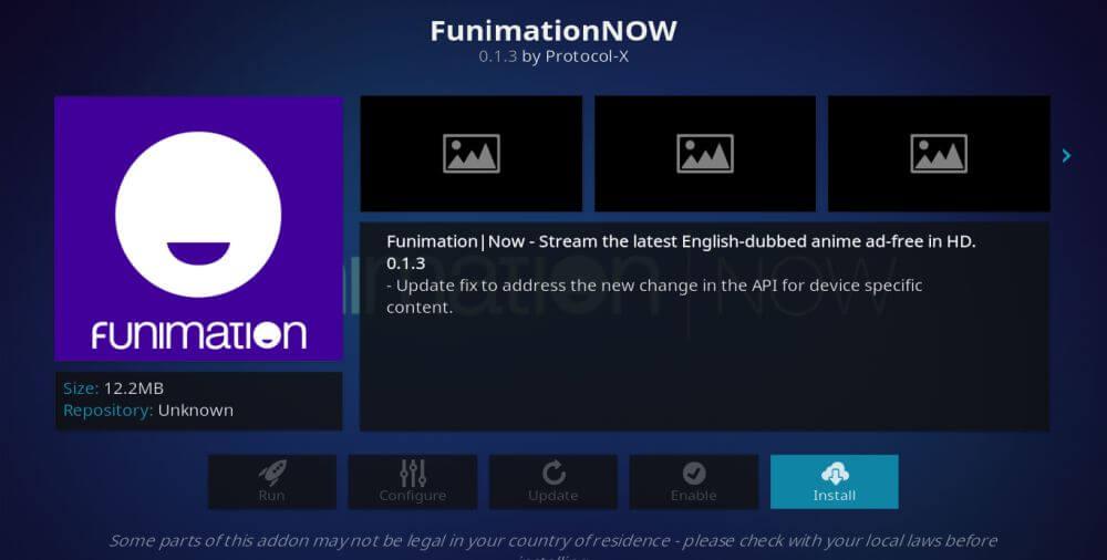 FunimationNOW - Best Kodi Addons