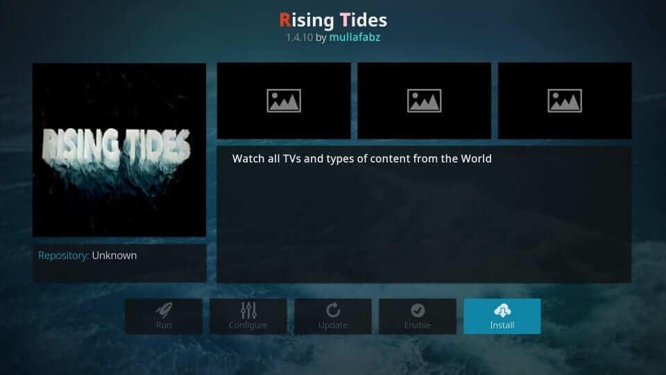 Rising Tides - Best Kodi Addons