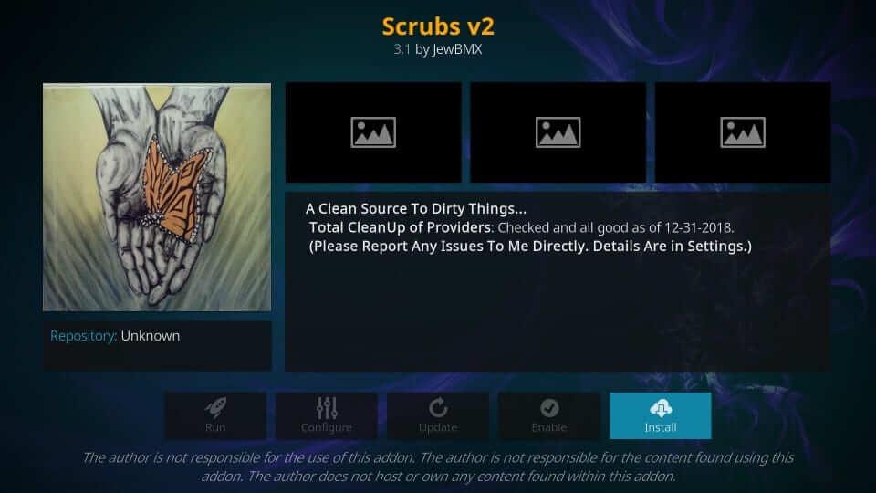 Scrubs - Best Kodi Addons