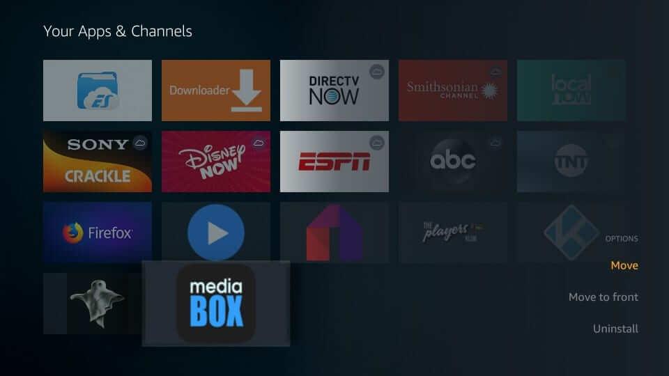 Select Move - MediaBox HD