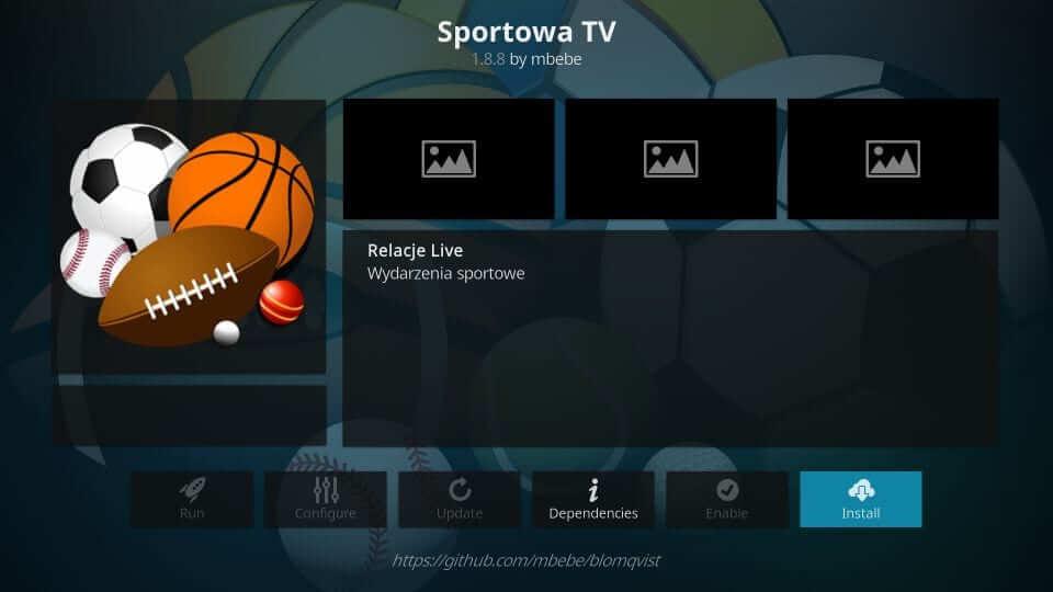Sportowa - Best Kodi Addons