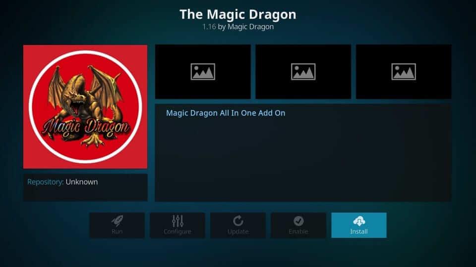 The Magic Dragon - Best Kodi Addons