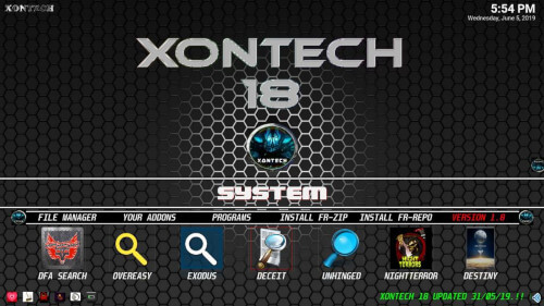 Xontech - Best Kodi Builds