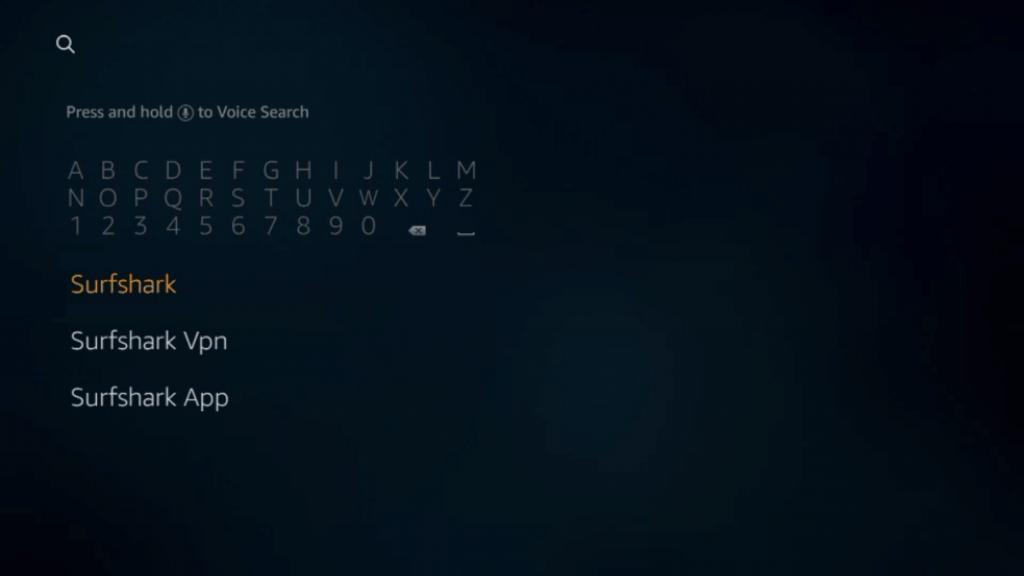Search Surfshark