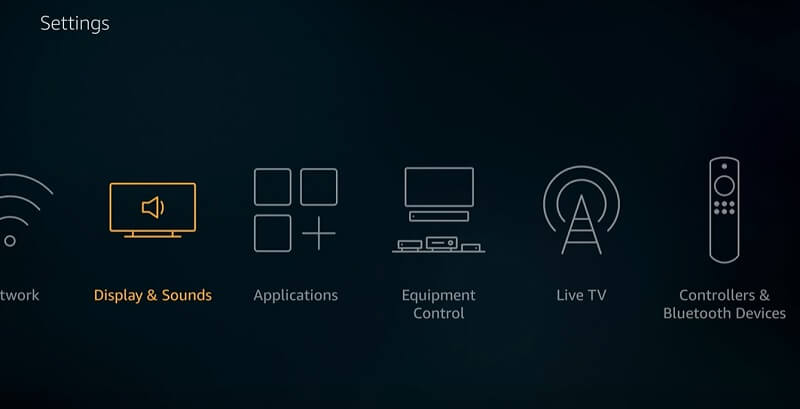 Display and Sounds - Best Firestick Settings
