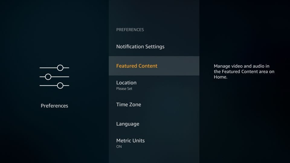 Featured Contents - Best Firestick Settings