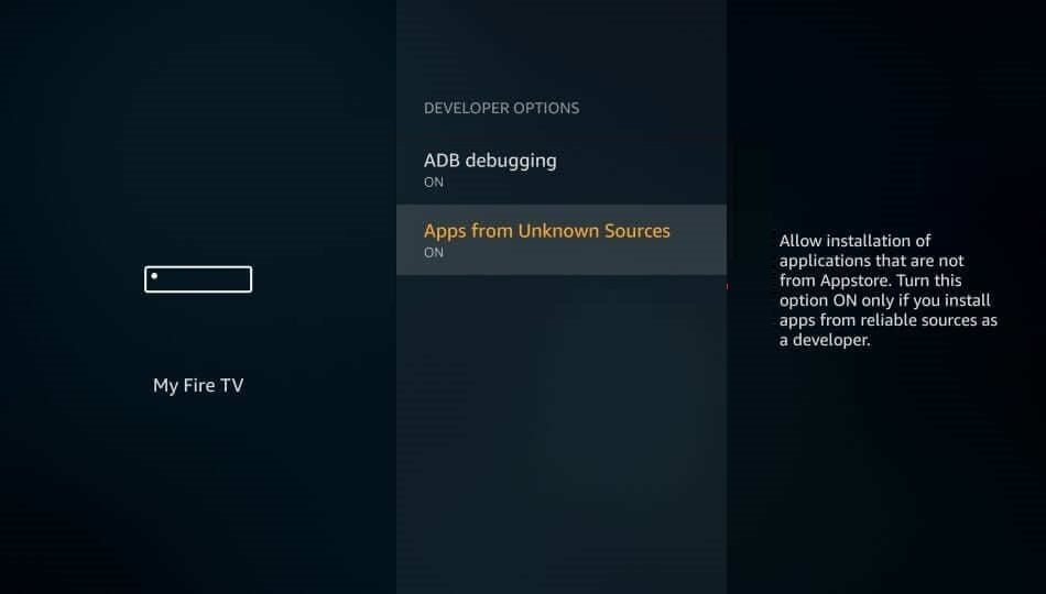 Turn Off ADB and Apps from Unknown Sources