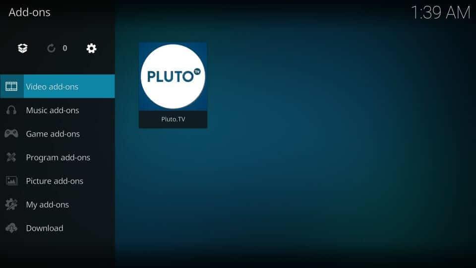 Select Pluto TV