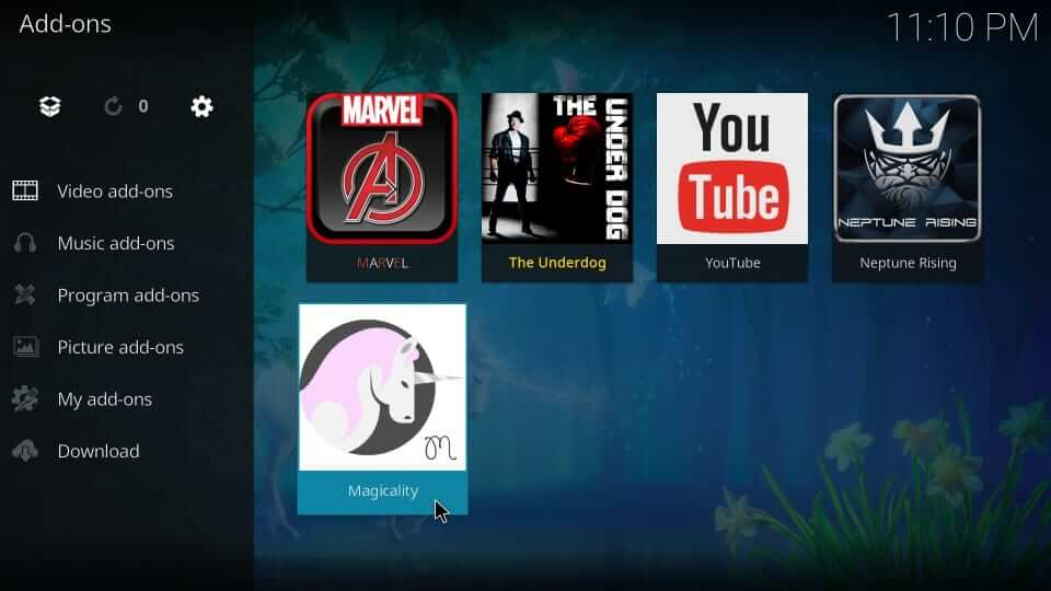 Addons and Video addons