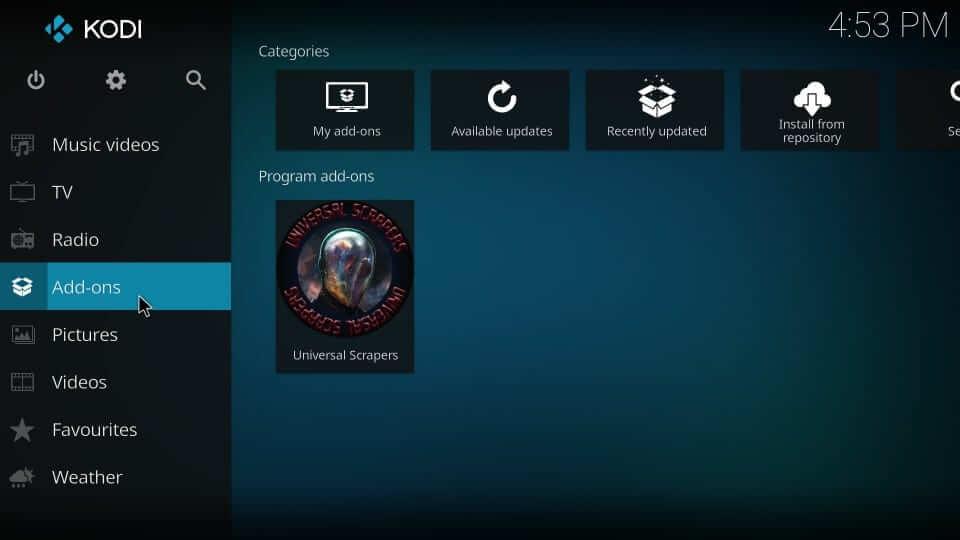 Addons option - Yify Movies HD Addon