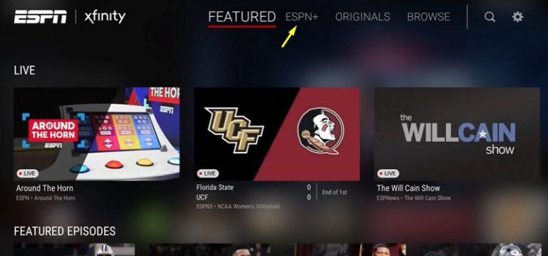 ESPN+ - ESPN on Firestick