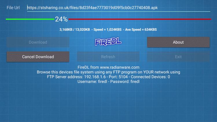 FireDL on Firestick Download Link