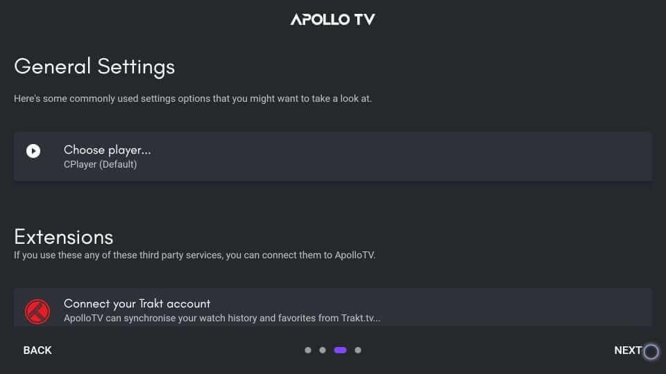 Media Player - Apollo TV on Firestick
