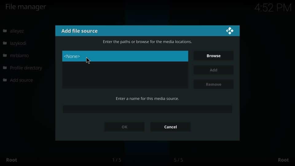 None - Yify Movies HD Addon