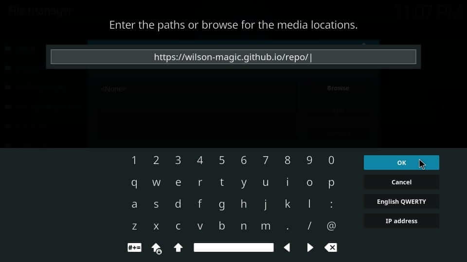 Repo Source URL - Magicality Kodi Addon