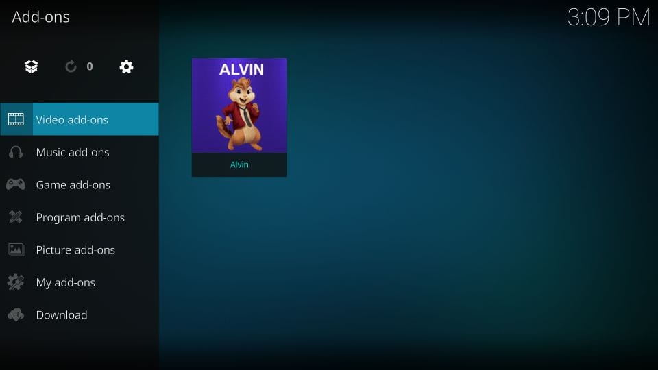 Video addons - Alvin on Kodi