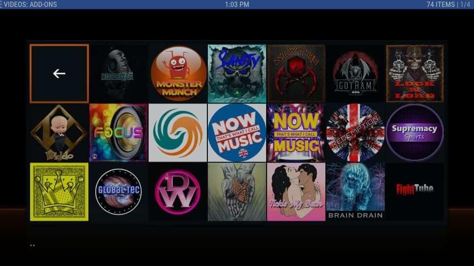 Movies and Shows - Duggz Kodi Build