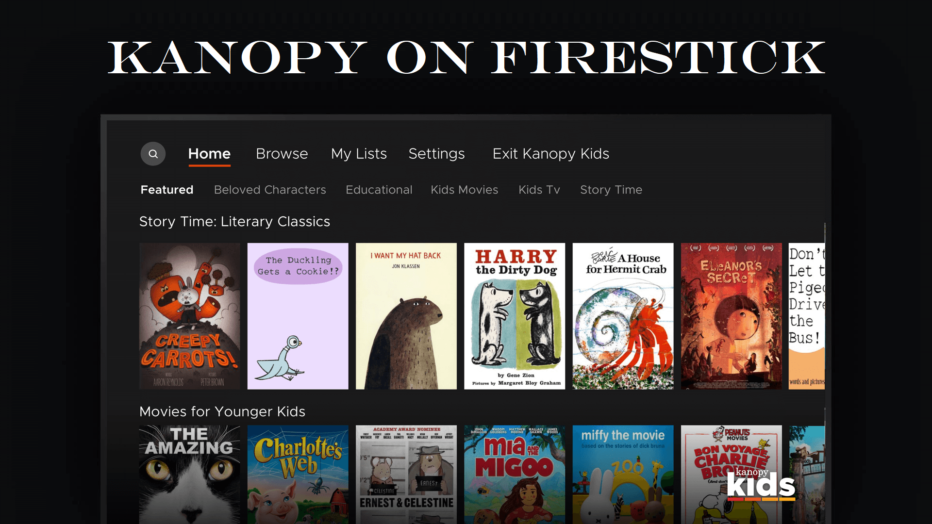 How to Install & Activate Kanopy on Firestick / Fire TV