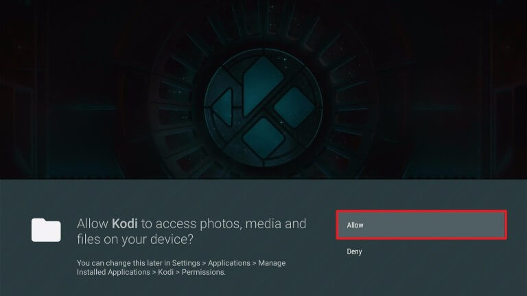 Allow - Downgrade Kodi 19 to Kodi 18