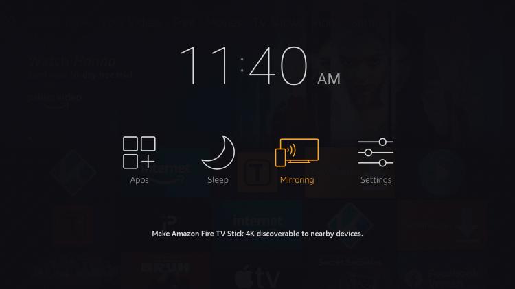 Screen Mirror Google Play Movies on Firestick